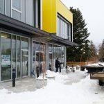 Sky Windows Working In Snow