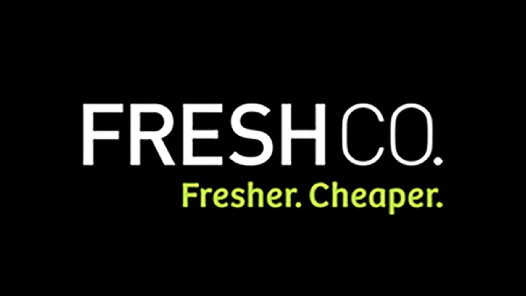 FreshCo. Black Logo